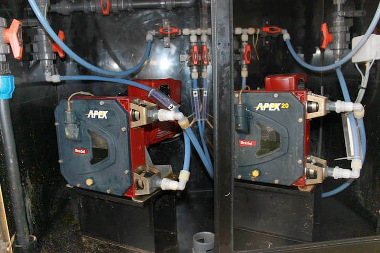 Limoges-water treatment plant pumps