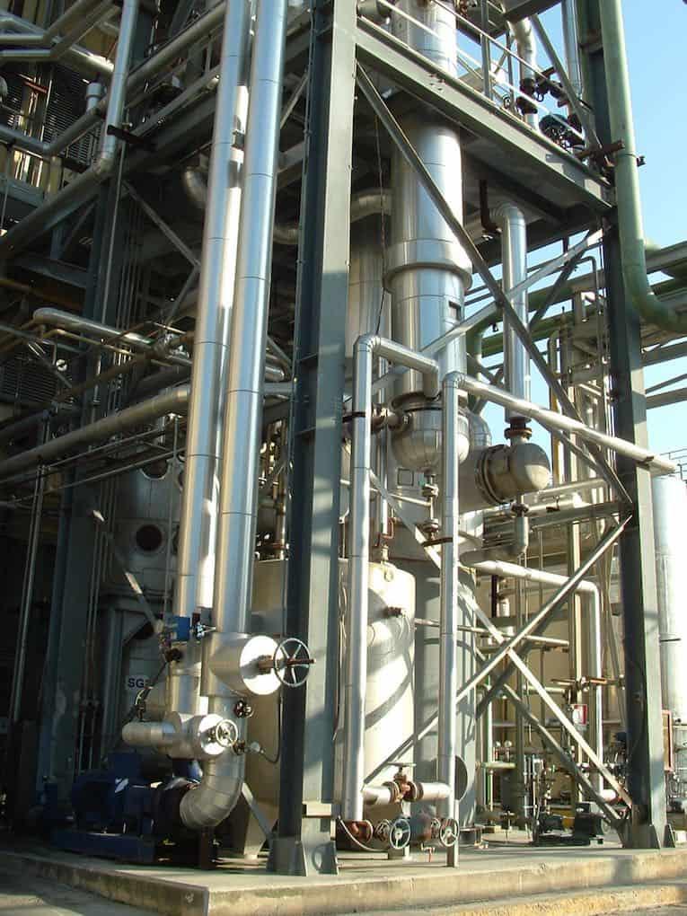 landwirtschaftliches Biomassekraftwerk