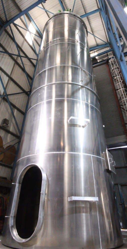 usine de fabrication de bevex silo
