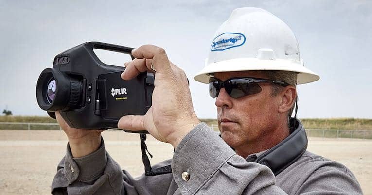 камеры обнаружения метана