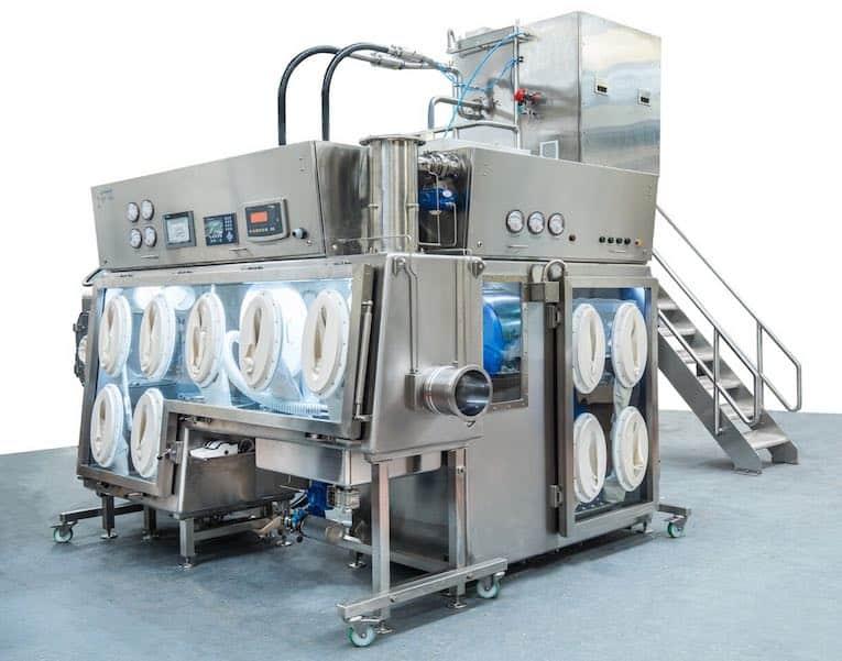 vacuum-conveying sieve integration