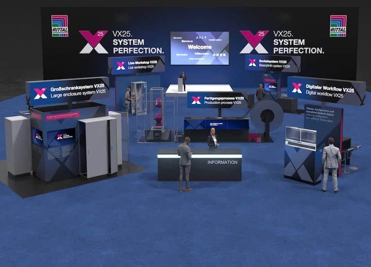 Rittal VX25 virtual trade fair