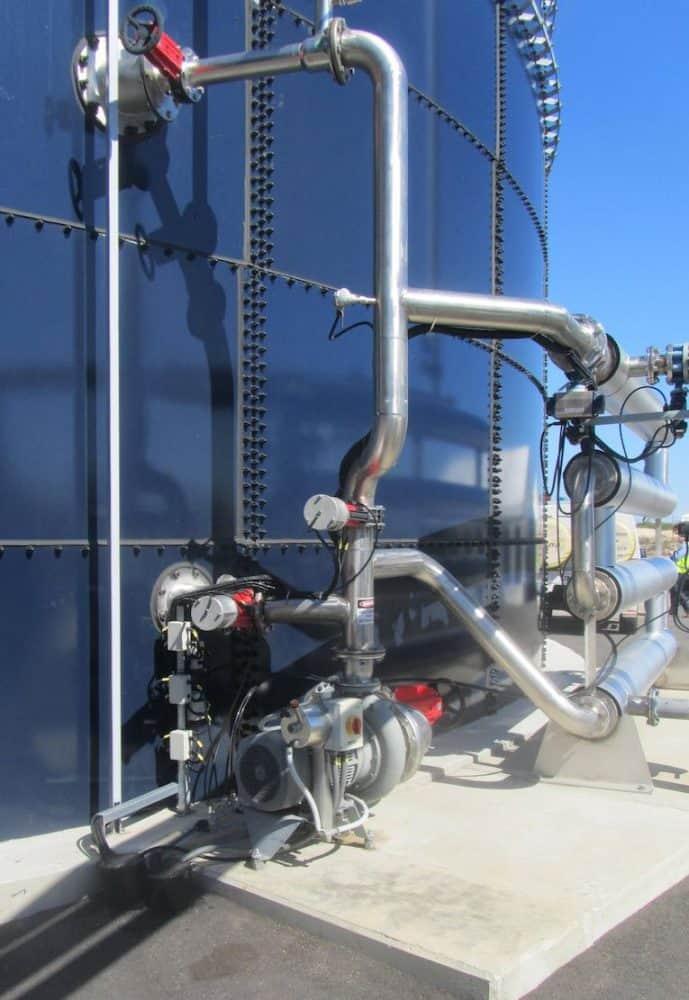 Sistema de mistura do digestor GasMix