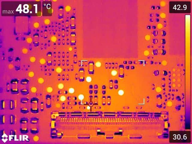 Inspection des composants PCBA