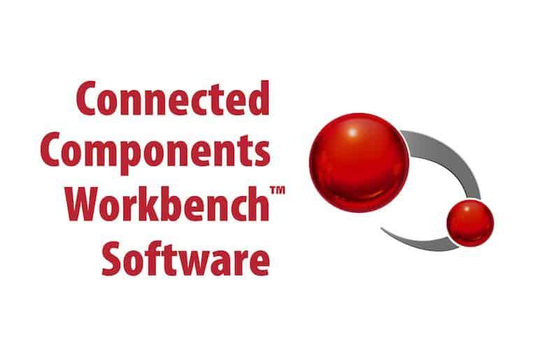 banco de trabajo de componentes conectados