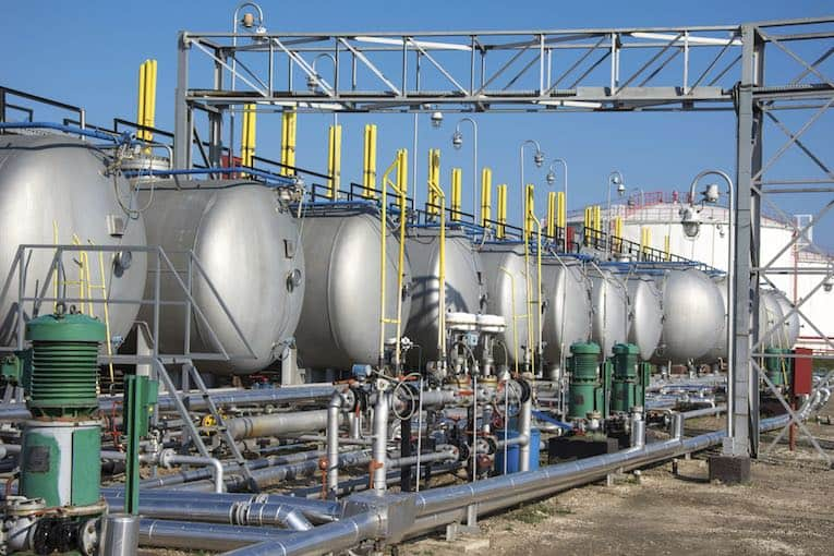 acid settling tank level measurement