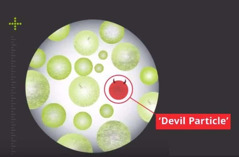 particule de diable