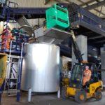 ensiling pasteurisation fish waste