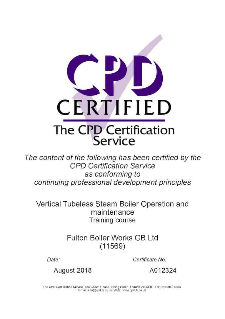 CPD-certificaat