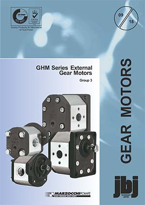 GHM Series External Gear Motors