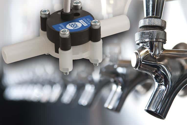 beverage dispensing flowmeters