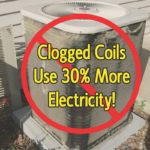 clogged coils