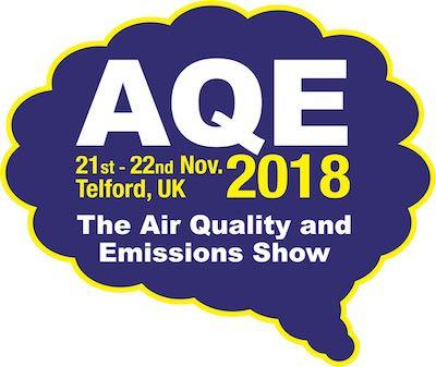 Logotipo de AQE 2018