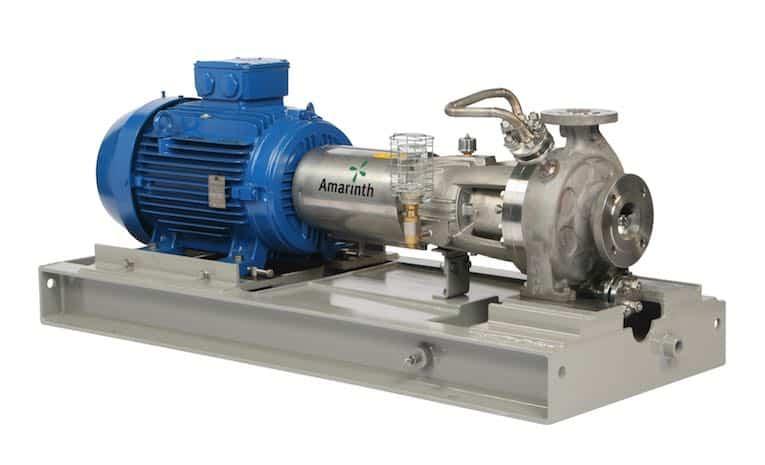 Amarinth API 610 OH1 Pump with API Plan 11 Seal System