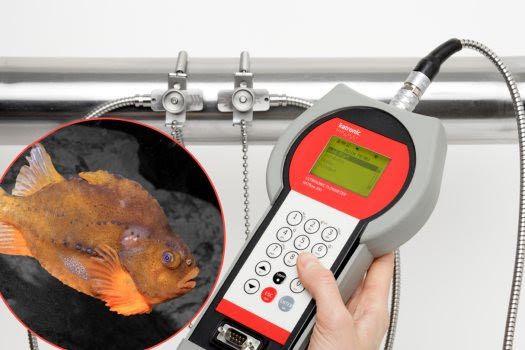 Fischfarm-Wasserfluss-Überwachung