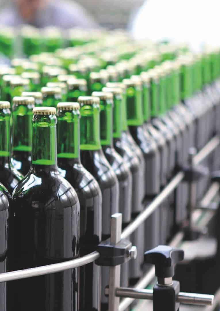 filtração de produtores de vinho