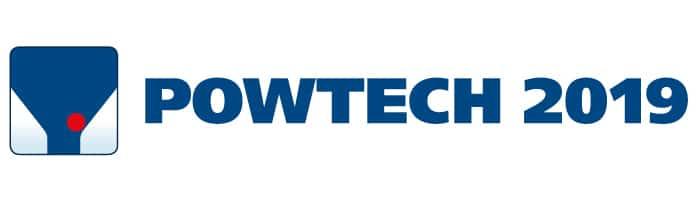 Logotipo de POWTECH 2019