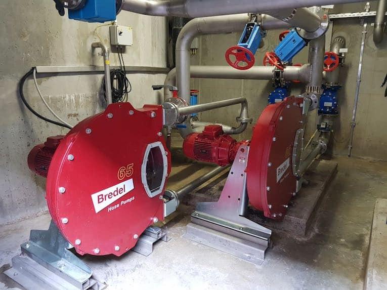 bredel-pumps-slovenian-station de traitement des eaux usées
