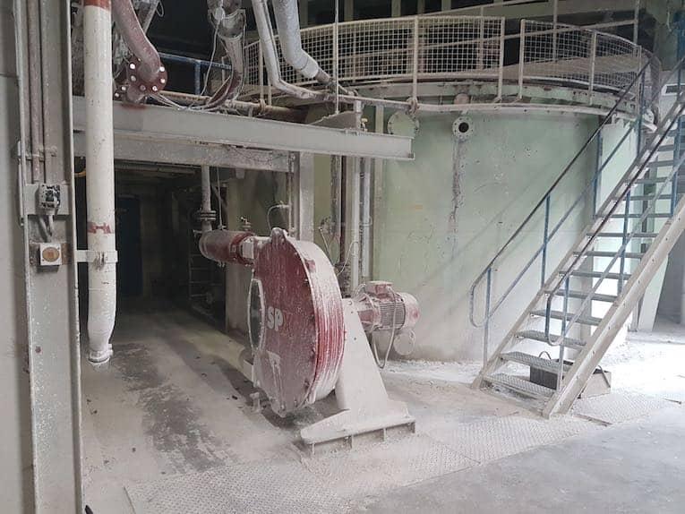 lisier de retour des déchets de la pompe