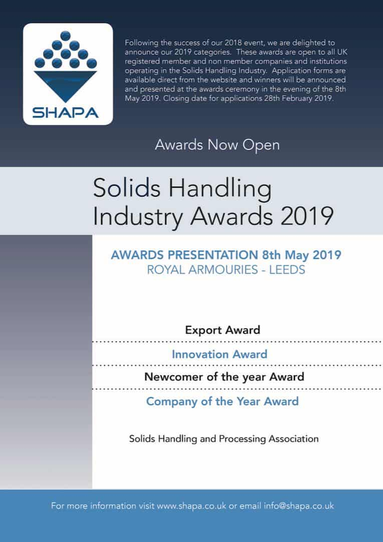 solids handling awards poster