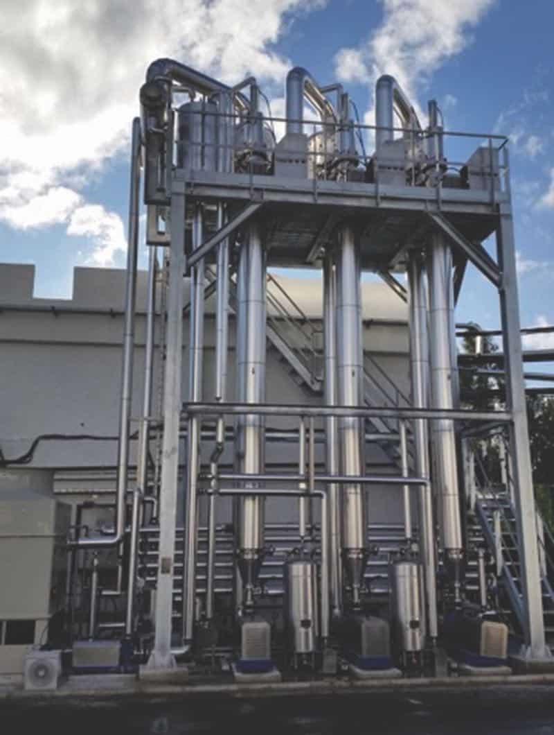 HRS unicus-serie / vloeistofafvalstromen
