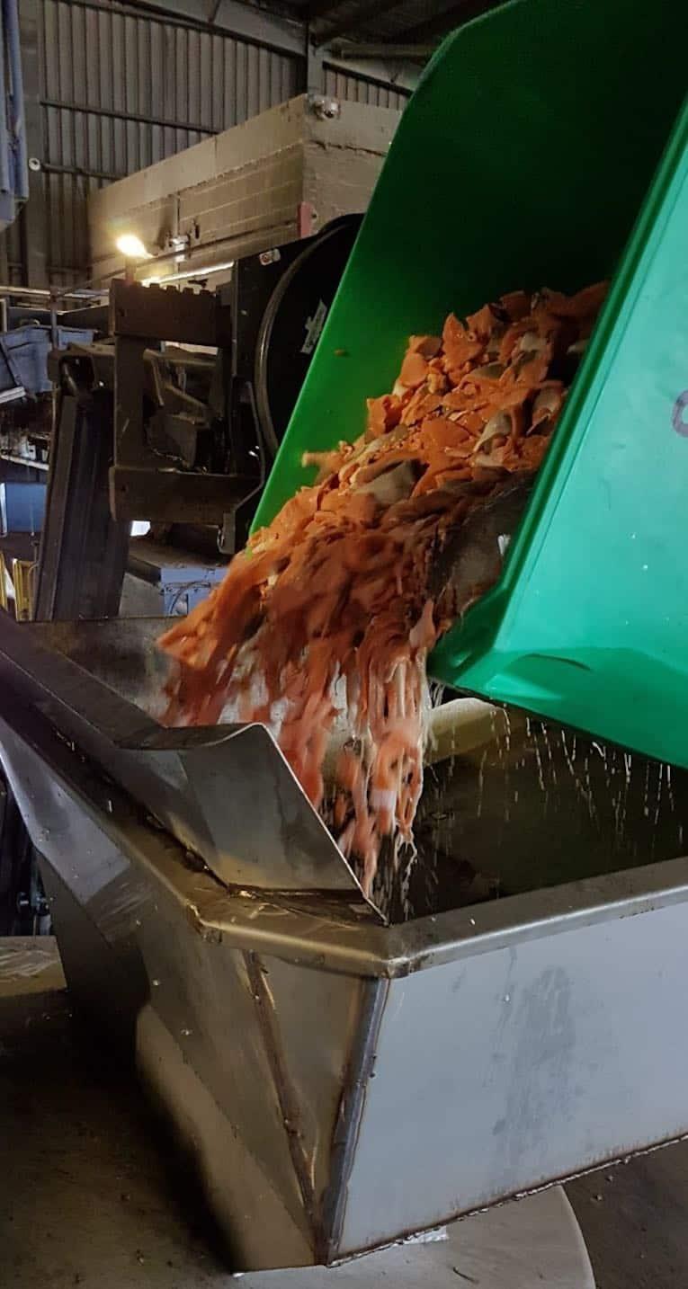 unité d'ensilage de saumon
