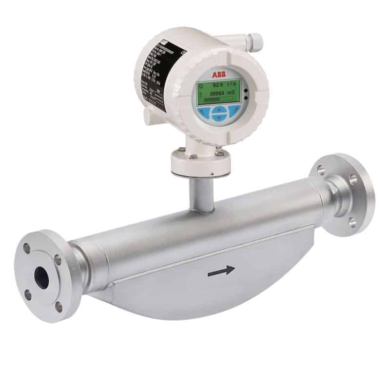 Integrierter Sensor für DN25 / Coriolis-Messverfahren