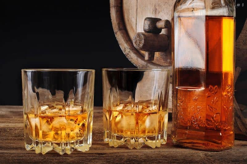 Coriolis Messung Scotch Whisky