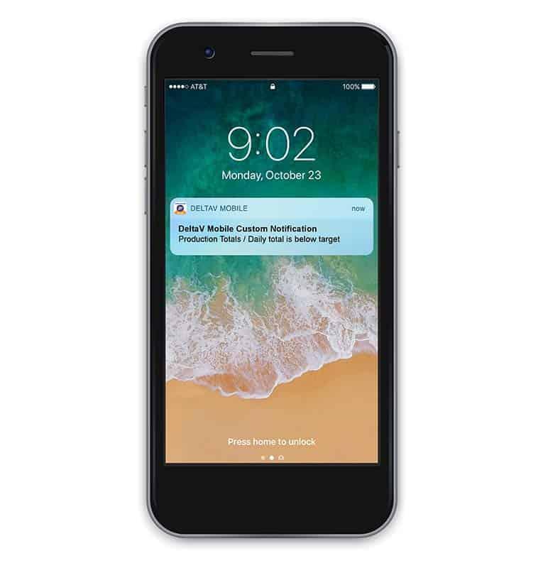 Aplicación móvil para actualizaciones de plantas de procesamiento.