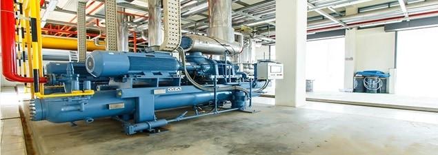 refrigeration plant compressor