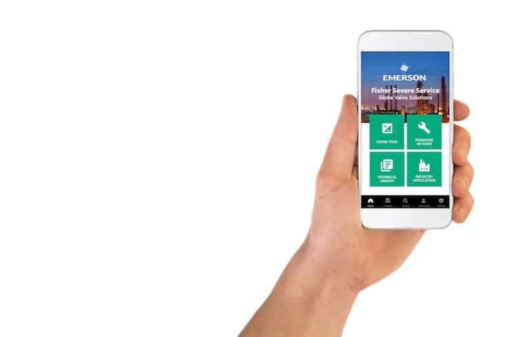 серьезное сервисное приложение для оптимизированного обслуживания регулирующего клапана