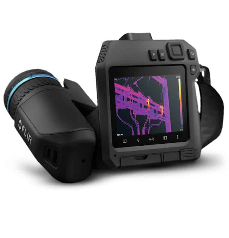 FLIR T840 thermal imaging camera
