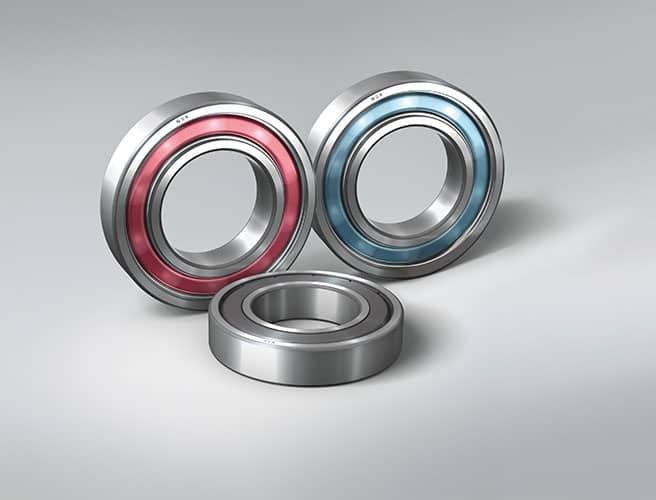 Blu modellato NSK-DGBB rosa