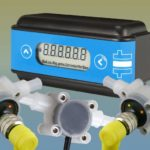 flexibele flowmeter display-unit combinatie