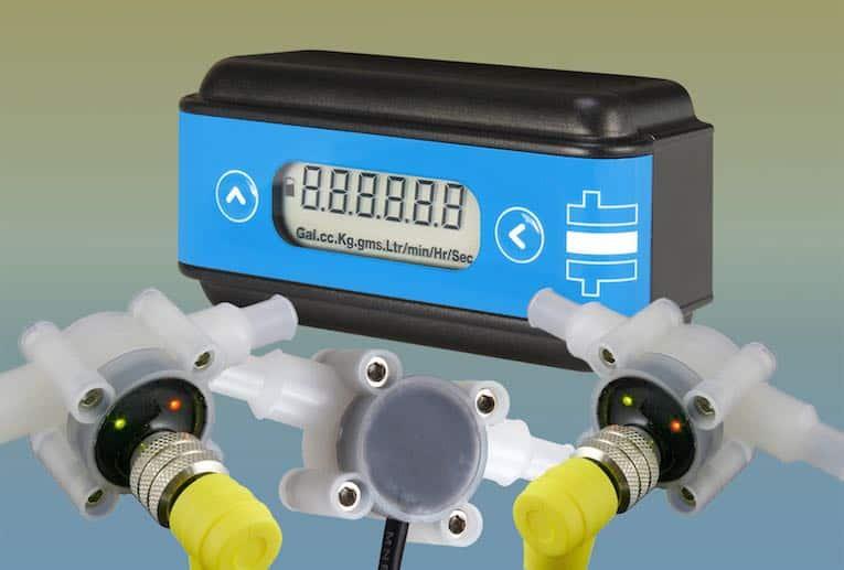 combinaison d'unité d'affichage de débitmètre flexible