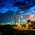 malaysische Raffinerie
