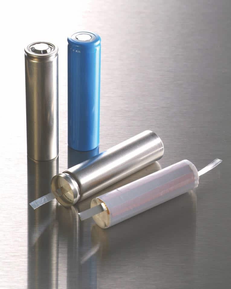 nexeon lithiumionen batterietestzellen