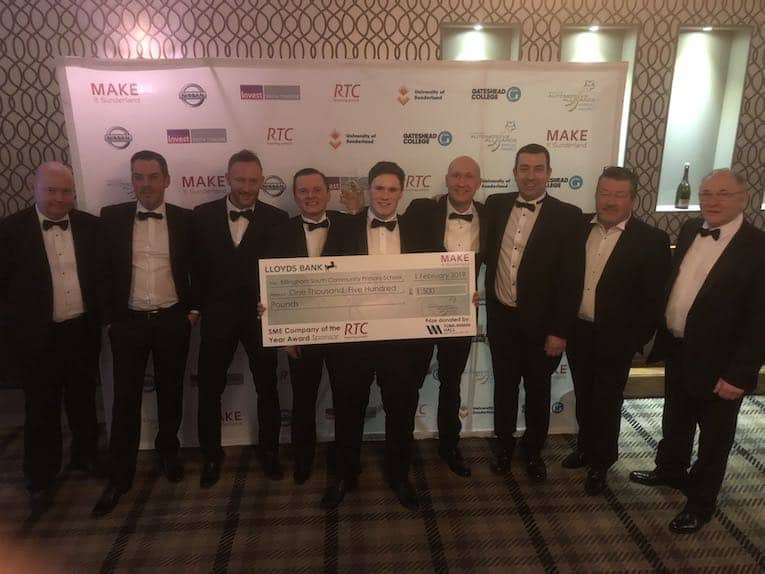 tomlinson hall wins sme business year