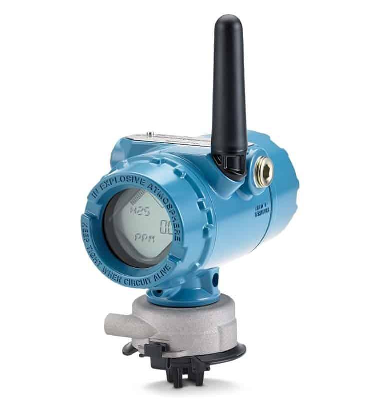 monitor per gas tossici senza fili