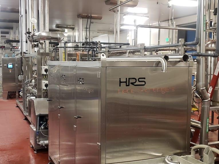 Le système de refroidissement comprend une armoire CIP verrouillable pour assurer la sécurité alimentaire