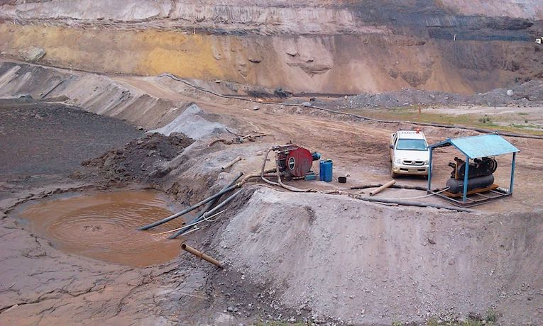 mineralenpompen van edele metalen