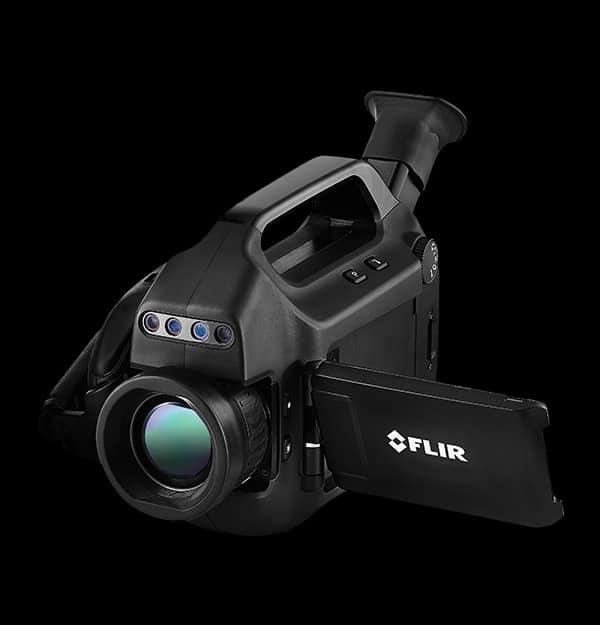 fotocamera per imaging con gas ottico non raffreddato e raffreddato