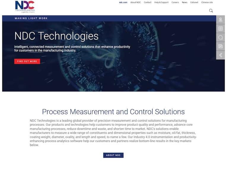 nouveau site web NDC