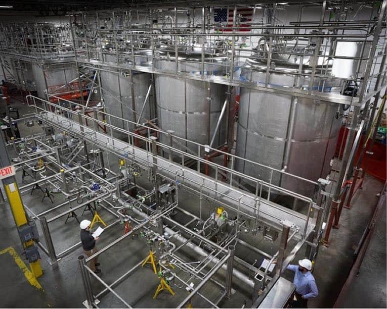 systèmes de process sanitaires hygiéniques pré-assemblés