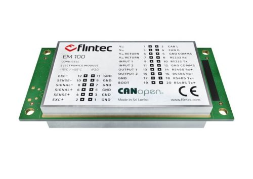 unidade de digitalização flintec em100