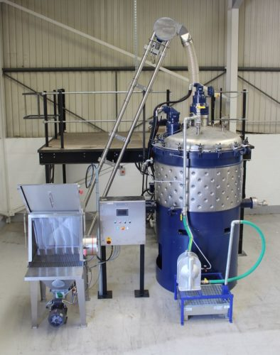 spiroflow conveyor chemique adhesives