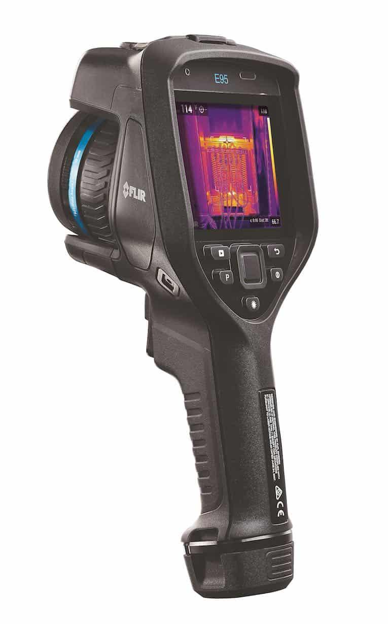 Wärmebildkamera der FLIR-E-Serie