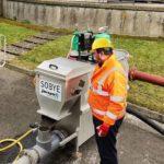 Sobye Scottish Water Testeinrichtung