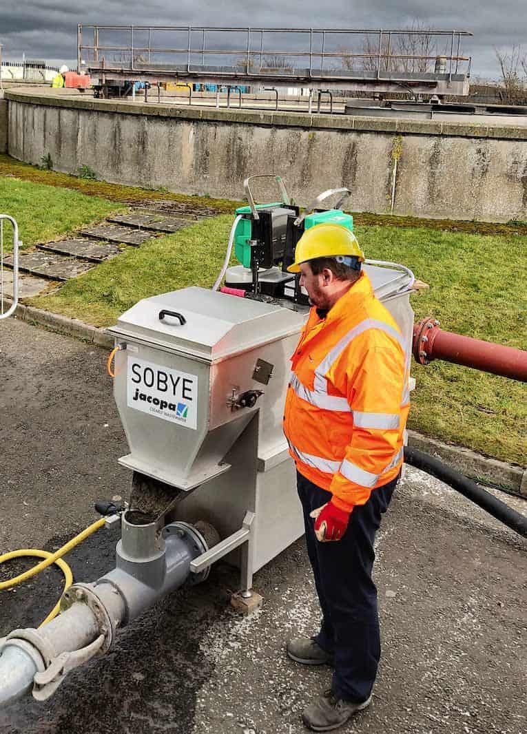 sobye Schotse watertestfaciliteit