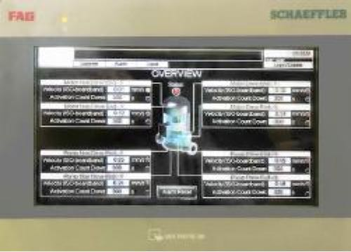 unité d'affichage à écran tactile